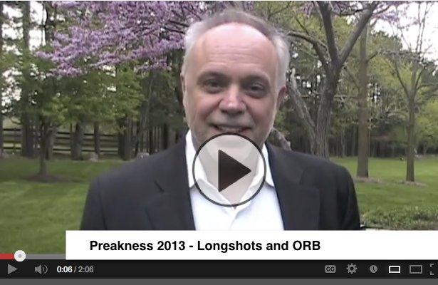Preakness 2013 video